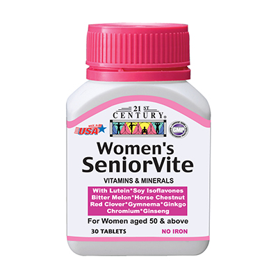 Women's SeniorVite, Vitamins & Herbs for Women over 50